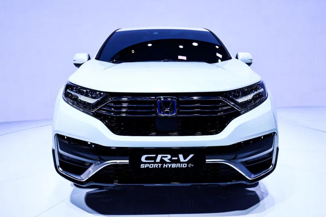 CR-V 锐·混动e+北京车展全球首发,东风Honda进入混动2.0时代